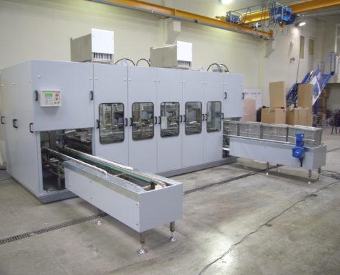 Multi-bath ultrason washing machines