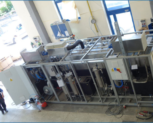Production of Washing Station