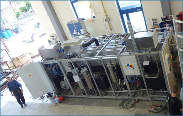 Production of Washing Station