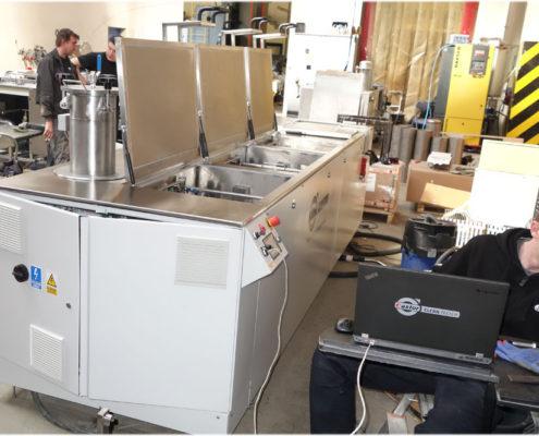 Testing of Washing Station