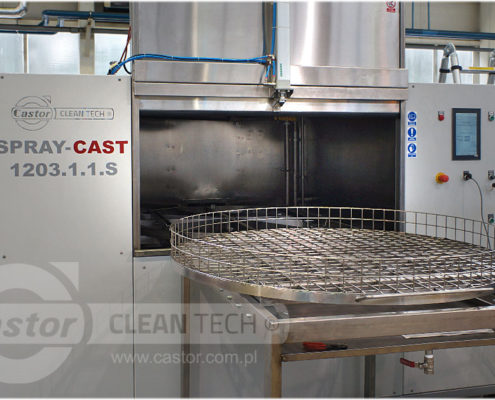 Front loading washing stands