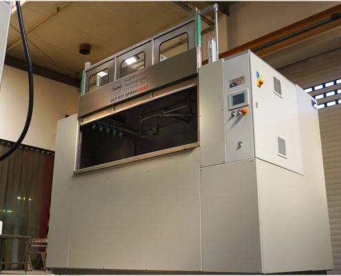 Half-hermetic washing machines