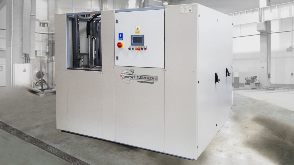 Solvent Based Vacuum Assisted Cleaning & Degreasing machines